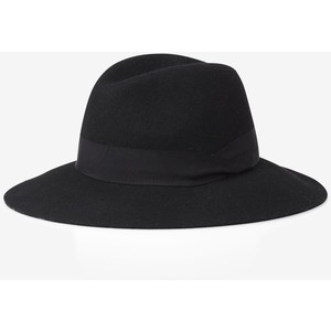 express black wool felt fedora 50