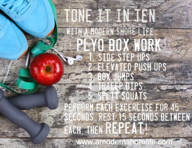tone it plyo box